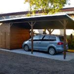 Přístřešek na auto nebo garáž?