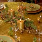 Jak prostřít stůl na vánoční večeři?
