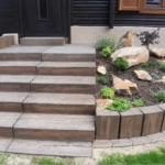 Betonová dlažba i venkovní schody z betonu – to je rychlá pokládka a efektní vzhled