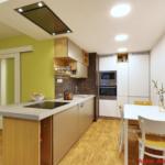 I malé kuchyně mohou být prostorné